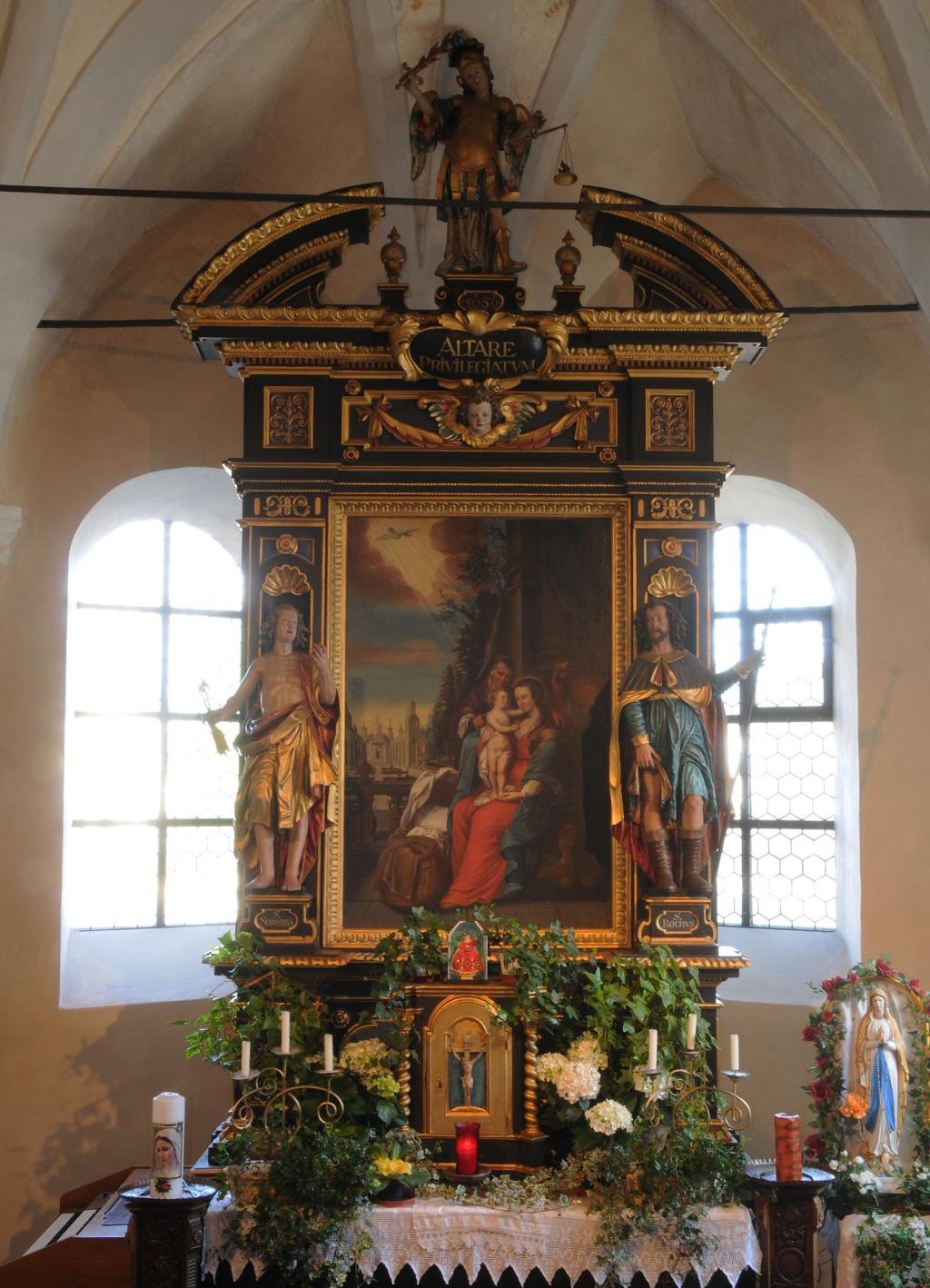 Hochaltar der Annakapelle