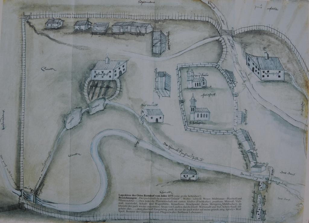 Ortsplan von Bemdorf 1575