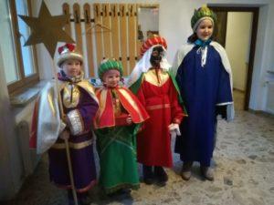 Die Hl. 3 Könige kommen...