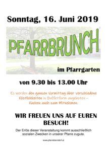 Pfarrbrunch @ Pfarrgarten